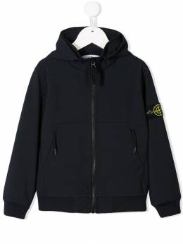 Stone Island Junior - logo patch jacket 6Q603695080856000000