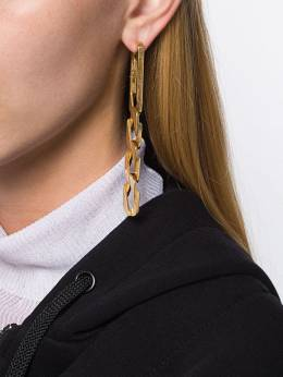 Alexander Wang - chain link earrings 099E9569506063000000