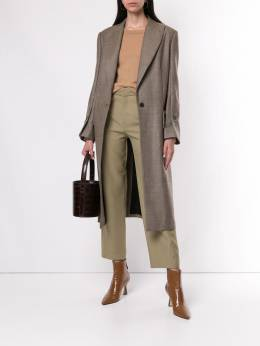Erika Cavallini - magnani single breasted overcoat 96995003805000000000