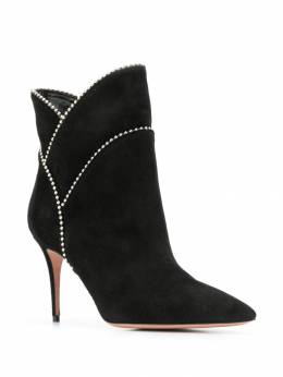 Aquazzura - layered ankle boots MIDB6SUE950959960000