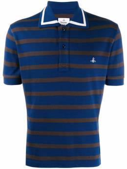 Vivienne Westwood - classic striped polo shirt GL6600S0359095995509