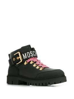 Moschino - low biker boots 9695G68MD99506358600