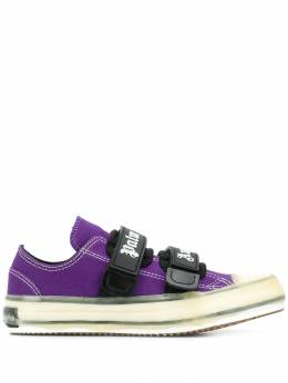 Palm Angels - low-top touch-strap sneakers A668E995996359505883
