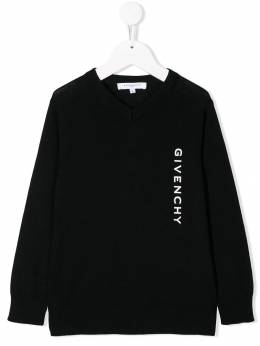 Givenchy Kids - logo print sweater 95395089636000000000