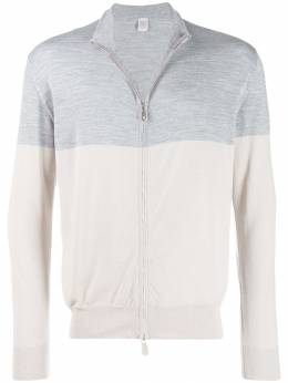 Eleventy - two-tone zip-up sweater MA6538MAG08655959990