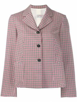Alberto Biani - check single-breasted jacket 56WO0999950555330000