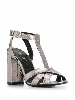Twin-Set - T-bar block heel sandals TCP90J95056539000000