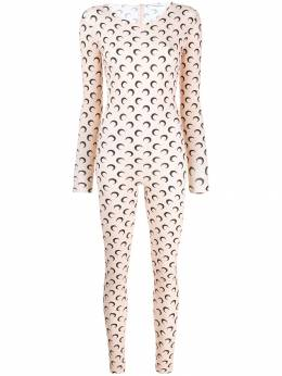 Marine Serre - all over moon jumpsuit 3FW98I93338960000000