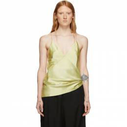Haider Ackermann Yellow Kuiper Camisole 192542F11100204GB