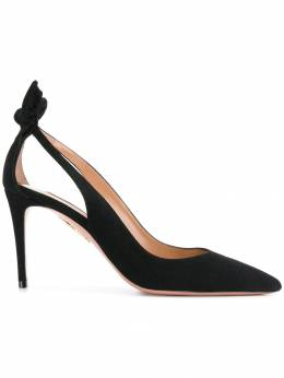 Aquazzura - туфли-лодочки 'Deneuve 85' MIDP6SUE666936856030