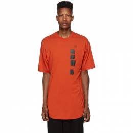 Julius Orange Dawn T-Shirt 192420M21300402GB