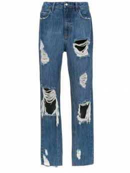 Nk - distressed jeans 56393936063360000000