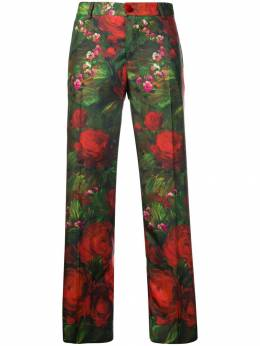 F.R.S For Restless Sleepers - rose print trousers 66006TE6605893359953