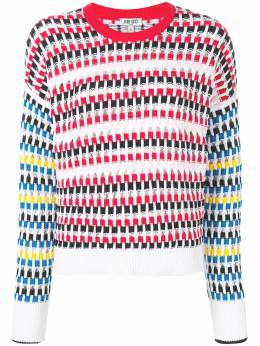 Kenzo - cut-out jumper 0TO58985693595985000