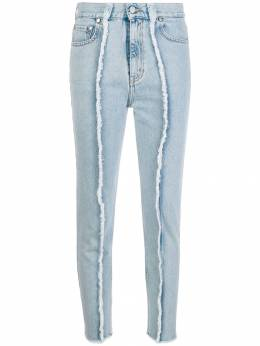 Rokh - frayed detail skinny jeans A0593905336000000000