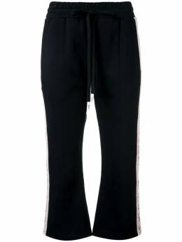 Haculla - Modern love cropped track trousers 68AHB659099555300000