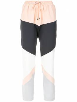 Olympiah - panelled straight trousers 55690555389000000000