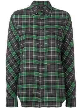 Dsquared2 - checked longsleeved shirt DL6599S5903993695358