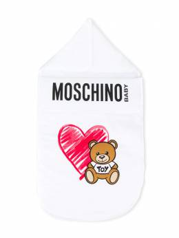 Moschino Kids - конверт с принтом Teddy Bear 665LDA95959669560000