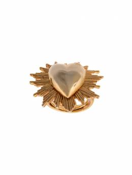 Oscar de la Renta - heart-shaped ring J563GOL9596338600000