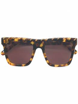 Stella McCartney Eyewear - chain-trimmed sunglasses 069S6669908903660000