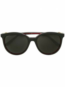 Cartier - tinted oversized sunglasses 663S9039596500000000