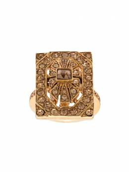 Oscar de la Renta - rectangular shaped ring J599LTT9596338300000