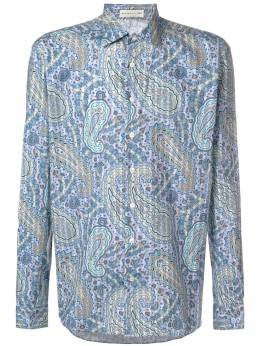 Etro - printed button shirt 95535593966006000000