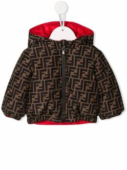 Fendi Kids - FF logo reversible jacket 606A8XW9535360500000