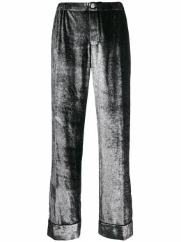 F.R.S For Restless Sleepers - wide leg shimmer trousers 66068TE6603895355559