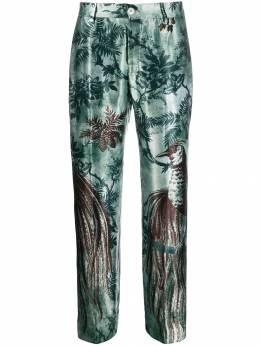 F.R.S For Restless Sleepers - straight leg printed trousers 66006TE6638395355538