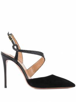 Aquazzura - curved strap pumps HIGP6SUA953969930000