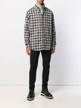 Dsquared2 - Dropped Military checked shirt DM6308S5003095350350