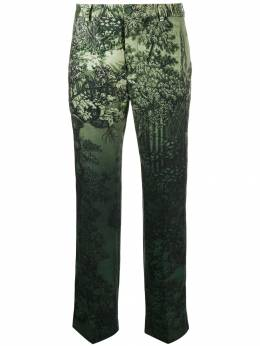 F.R.S For Restless Sleepers - low rise printed trousers 66006TE6635395365356