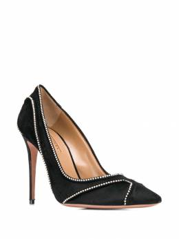 Aquazzura - Satine Crystal 115 pumps HIGP6SIV666953535850