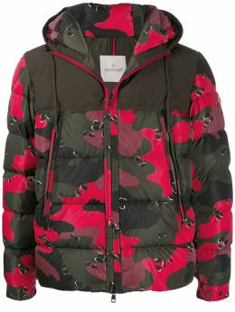 Moncler - camouflage print puffer jacket 9085539P995368966000