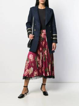 Twin-Set - pleated floral skirt TP066995360956000000