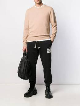 Maison Margiela - crew neck knitted sweater HB6909S9689395333966