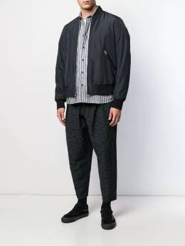 YMC - relaxed fit striped shirt AN953903000000000000