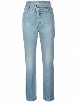 Jonathan Simkhai - belted high waisted jeans 5695D953509890000000
