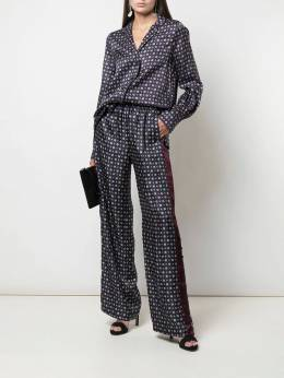 Jonathan Simkhai - wide leg patterned trousers 5669S953993860000000