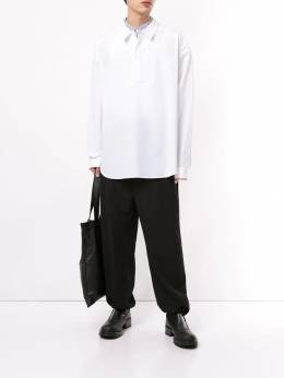 Juun.J - oversized placket shirt 865P6399508896800000