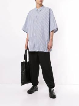 Juun.J - striped oversize shirt 365P93R9508896300000