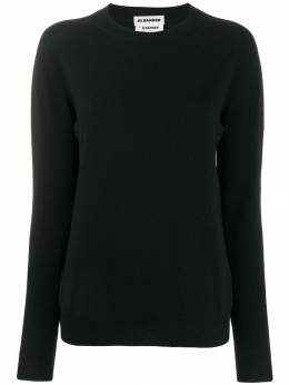 Jil Sander - ribbed round neck knitted sweater P355699WPY9666895365