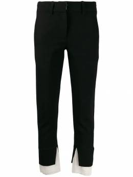 Ann Demeulemeester - cropped trousers 09566P96395396605000
