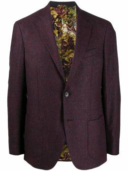 Etro - single-breasted lined blazer 68059950898530000000