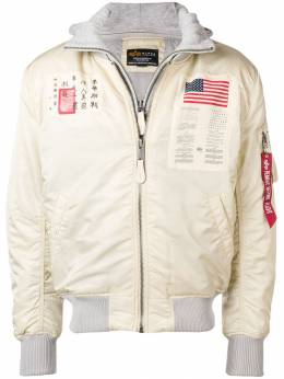 Alpha Industries - Astronaut bomber jacket 965MA9DTECBLOODCHIT9