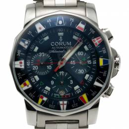 Corum Blue Colomb Admiral'S Cup Navy Limited Edition Of 999 Chronograph Men's Watch 44MM 219780
