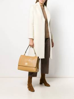 Coccinelle - camel-tone tote D6986369LIYA95569565