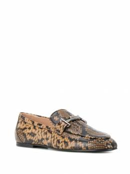 Tod's - snake effect loafers 39A6Z336THYB06995036